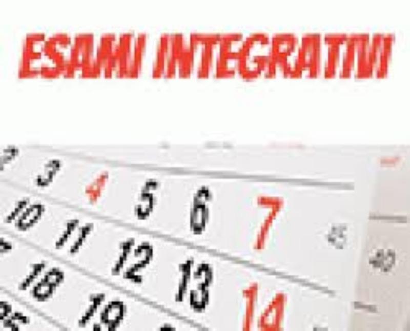 AVVISO N. 258 - COMMISSIONE ESAMI INTEGRATIVI E...